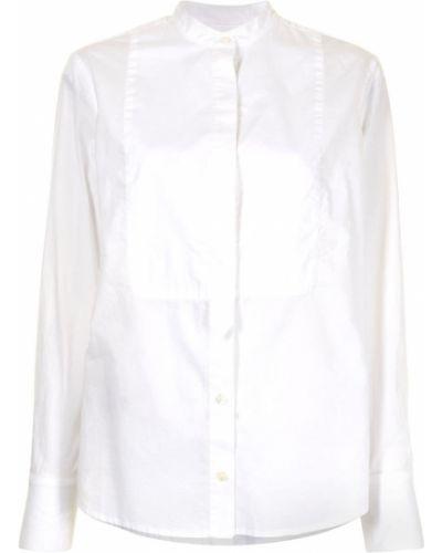 Хлопковая белая рубашка с воротником Equipment