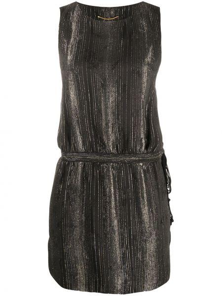 Платье мини макси в полоску Saint Laurent