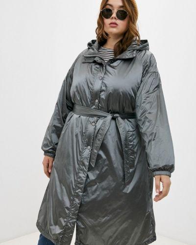 Серая демисезонная куртка Elena Miro