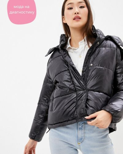 Утепленная куртка - черная Adrixx