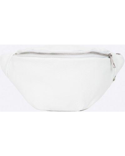 Маленькая сумка кожаная белый Answear