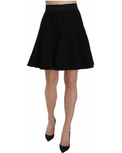 Czarna spódnica mini tiulowa Dolce And Gabbana