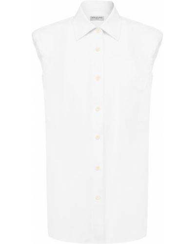 Рубашка белая Dries Van Noten