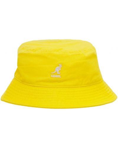Хлопковая шапка с вышивкой Kangol