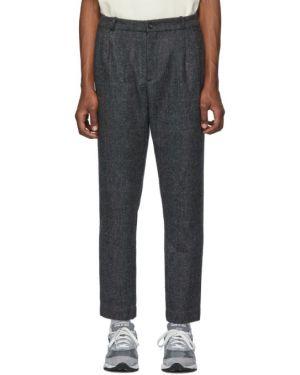 Prosto spodnie z kieszeniami z paskiem Aime Leon Dore