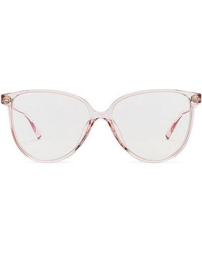 Złote różowe okulary Le Specs