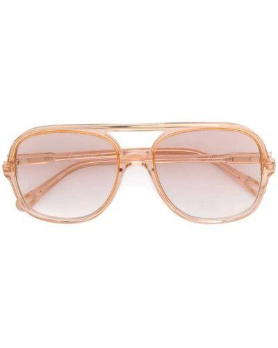 Солнцезащитные очки авиаторы Chloé Eyewear