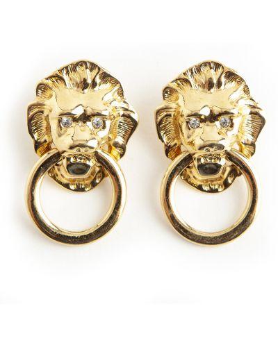 Żółty pierścionek Kenneth Jay Lane Vintage