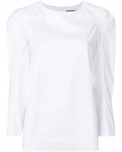 Белая хлопковая блузка Federica Tosi