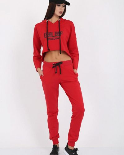 Спортивный костюм красный турецкий Whitney