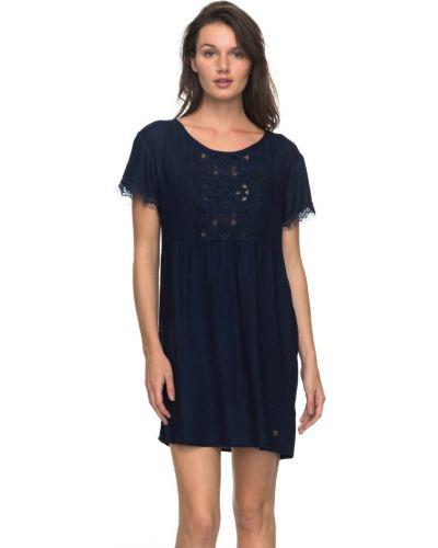 Синее платье легкое Roxy