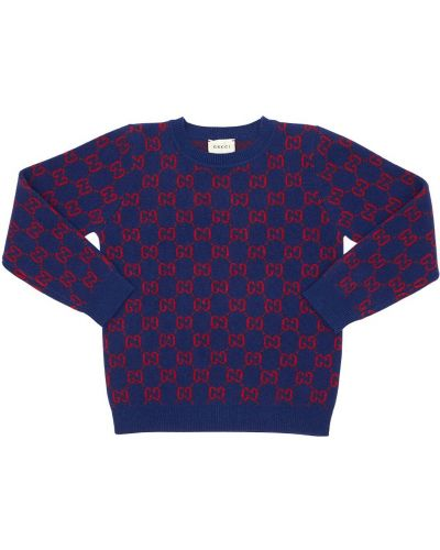 Wełniany sweter Gucci