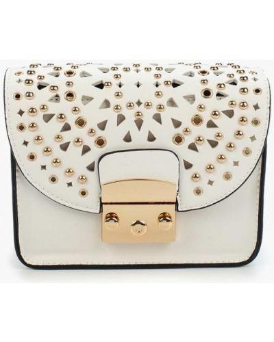 Белая сумка Zarina