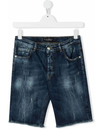 Koszula jeansowa - niebieska John Richmond Junior