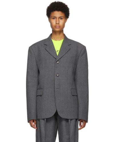 С рукавами классический пиджак с карманами с воротником We11done
