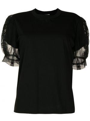 Хлопковая футболка - черная Comme Des Garçons Noir Kei Ninomiya