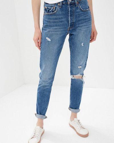Синие джинсы рваные Levi's®