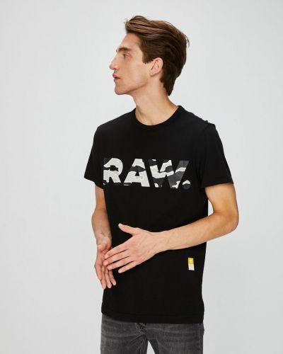 Черная футболка G-star Raw
