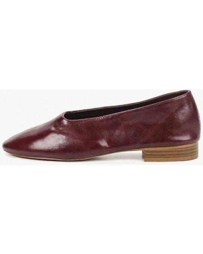 Кожаные туфли Mango