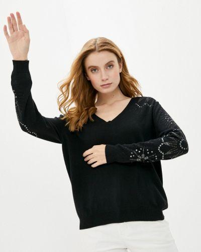Черный пуловер Desigual