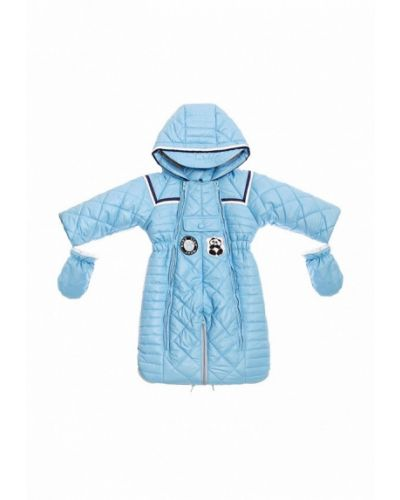 Голубой комбинезон теплый Babyline