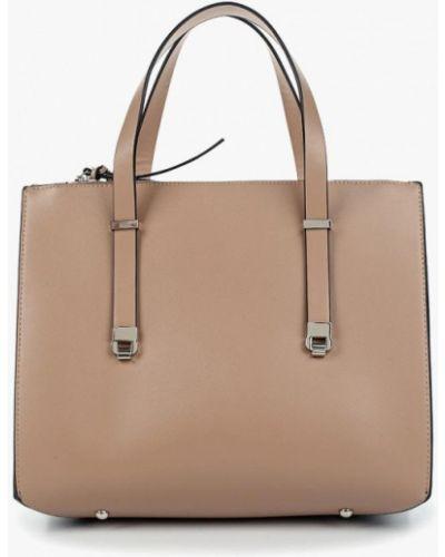 Бежевая сумка Zarina