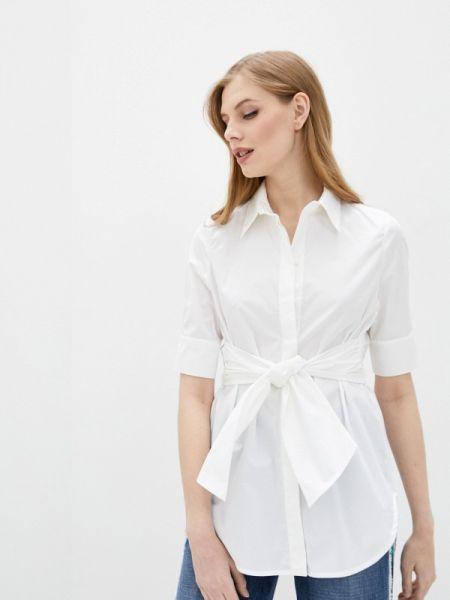 Белая блузка с коротким рукавом Beatrice.b