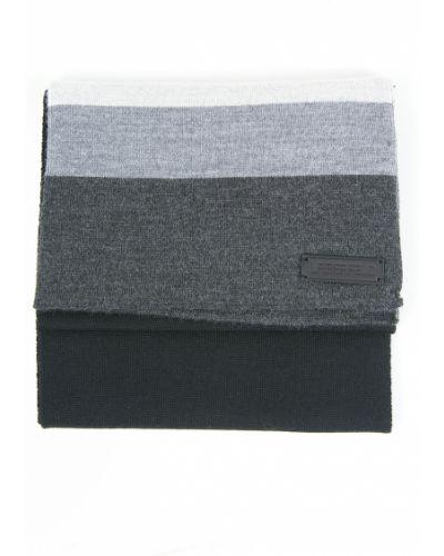 Черный шарф Lagerfeld
