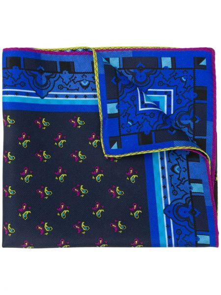 Синий платок Etro