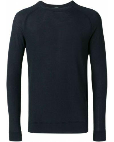 Niebieska bluza dresowa Zanone