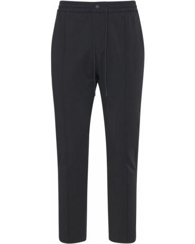 Czarne spodnie bawełniane Pantaloni Torino