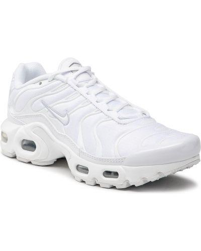 Półbuty sznurowane - białe Nike