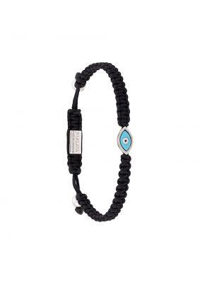 Браслет черный с подвесками Nialaya Jewelry