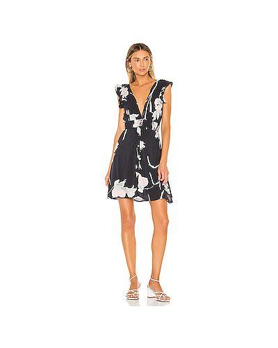Платье мини шелковое с поясом Maaji