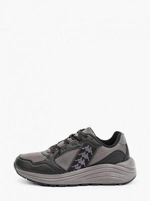 Черные зимние низкие кроссовки Kappa