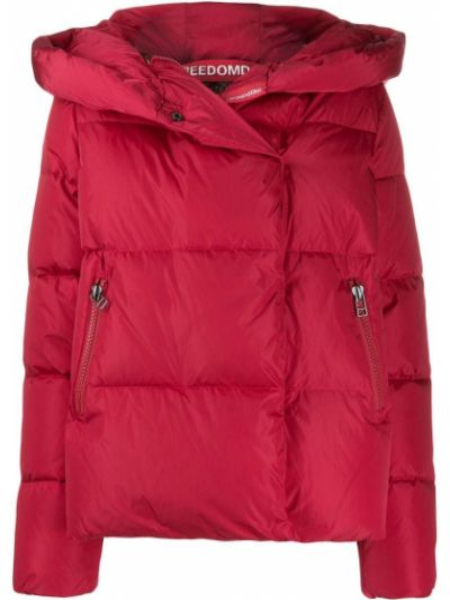 Приталенная прямая стеганая куртка мятная Freedomday