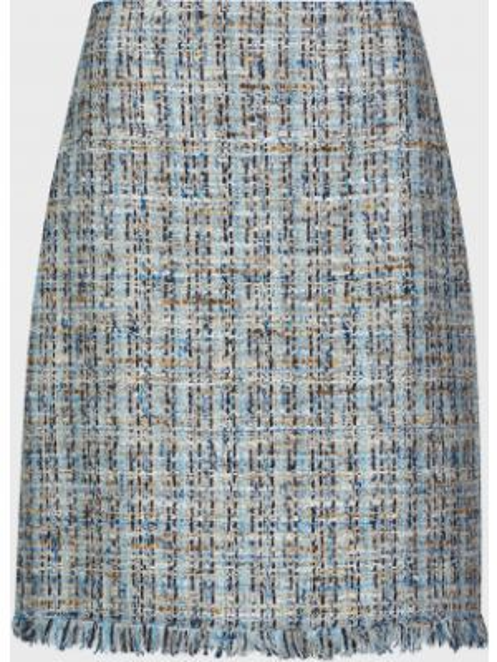 Шерстяная юбка на молнии Luisa Spagnoli