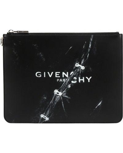 Kopertówka skórzana - czarna Givenchy