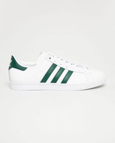 Кожаные ботинки на шнуровке белый Adidas Originals