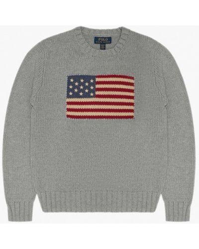 Серый свитер Polo Ralph Lauren