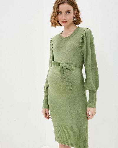 Зеленое платье Mama.licious
