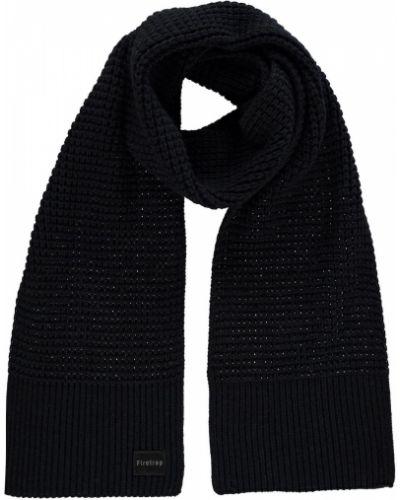 Prążkowany czarny szalik z akrylu Firetrap