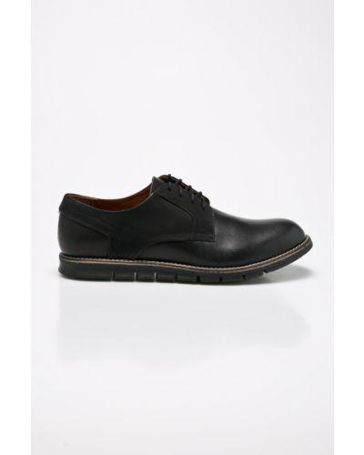 Черные туфли на шнуровке Conhpol