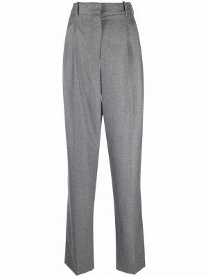 Шерстяные брюки - серые Stella Mccartney Kids