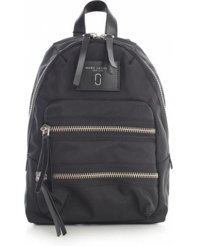 Czarny plecak z nylonu Marc Jacobs