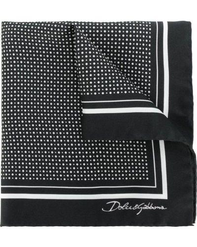 Платок нагрудный в горошек Dolce & Gabbana