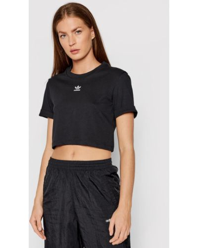 T-shirt - czarna Adidas