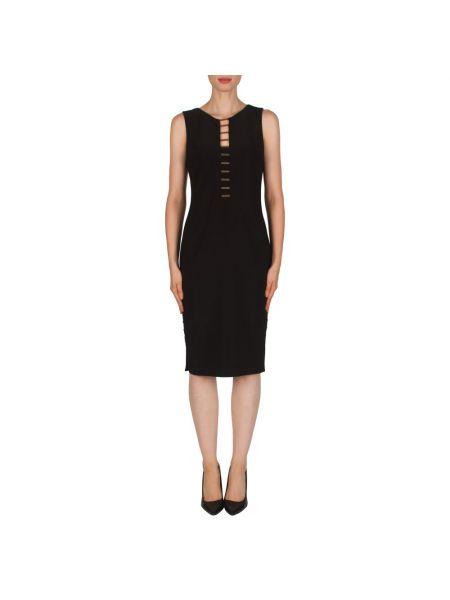 Czarna sukienka midi elegancka Joseph Ribkoff