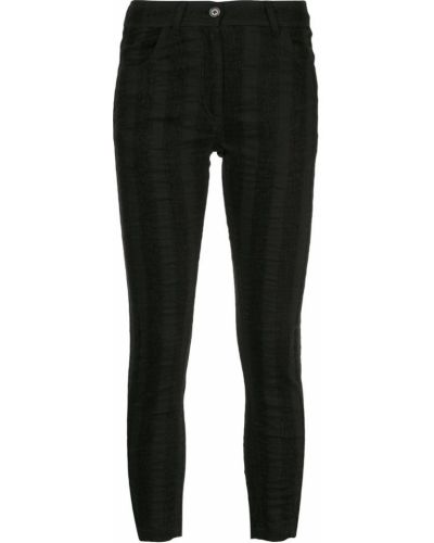 Черные джинсы с поясом Ann Demeulemeester