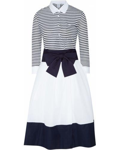Платье с поясом винтажная на пуговицах Sara Roka